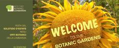Solstizio d'Estate – Welcome to the botanic gardens
