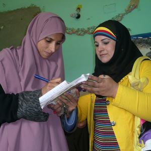 Donne e bambini per i diritti umani in Egitto