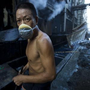 Cina, inquinamento industriale nella produzione tessile