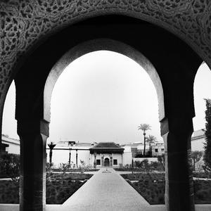 Le jardin secret – Museo all'aperto a Marrakech – durante la ricostruzione dell'area