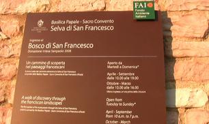 Riapre il Bosco di San Francesco ad Assisi