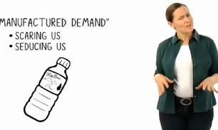 La storia dell'acqua in bottiglia