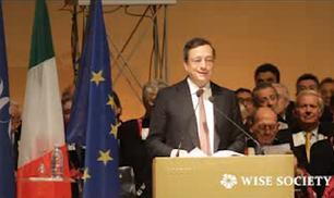 Mario Draghi: la crisi si combatte tagliando la spesa pubblica, non aumentando le tasse