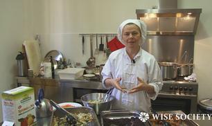 La ricetta per un'insalata di riso macrobiotica