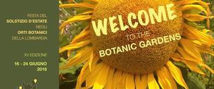 Solstizio d'Estate - Welcome to the botanic gardens