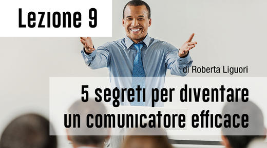 "Wise People coaching program: ""I 5 segreti per diventare un comunicatore efficace""."
