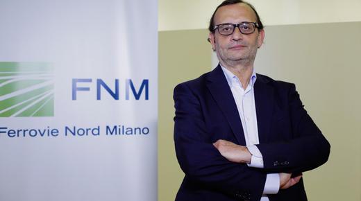 Fabrizio Garavaglia: «Ferrovie Nord Milano a tutta sostenibilità»