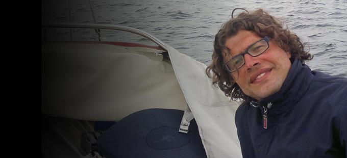 Nicolò Carnimeo: «C'è troppa plastica nel mare»