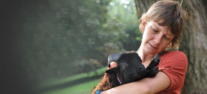 Silvia Canevara: «Il tosaerba più ecologico? Un gregge di pecore»
