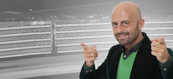 Luca Abete: «Spiego ai ragazzi il valore dell'ottimismo»