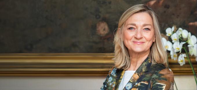 Maria Cristina Finucci: «Sono la presidente dello Stato dei rifiuti»