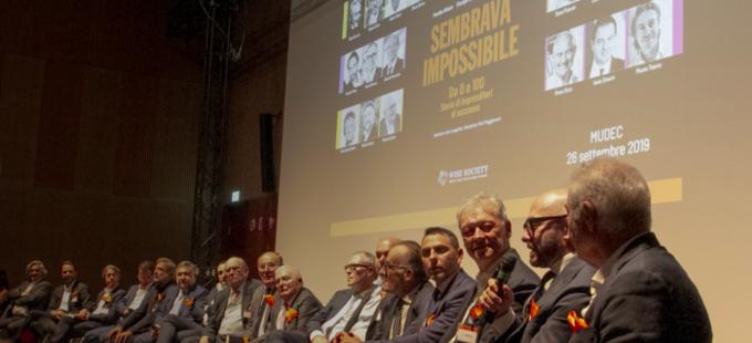 """Presentazione del libro """"Sembrava impossibile"""" del 26 settembre 2019 al Mudec di Milano"""