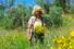 Regina Bortolato, da dirigente a coltivatrice d'erbe