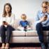 La dipendenza dallo smartphone di genitori e figli