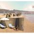 Distanziamento sociale in spiaggia: i moduli green in legno