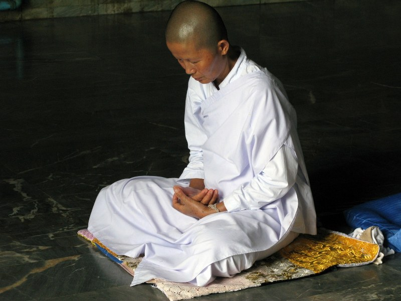 Meditation, foto di BrotherEve/Flickr Album