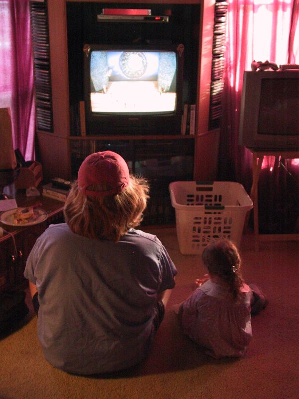Children and TV, album di tempophage/flickr