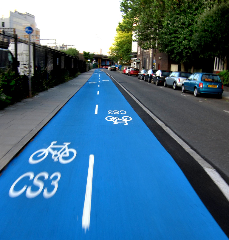 Cable Street cycle superhighway, Album di Jack999/flickr