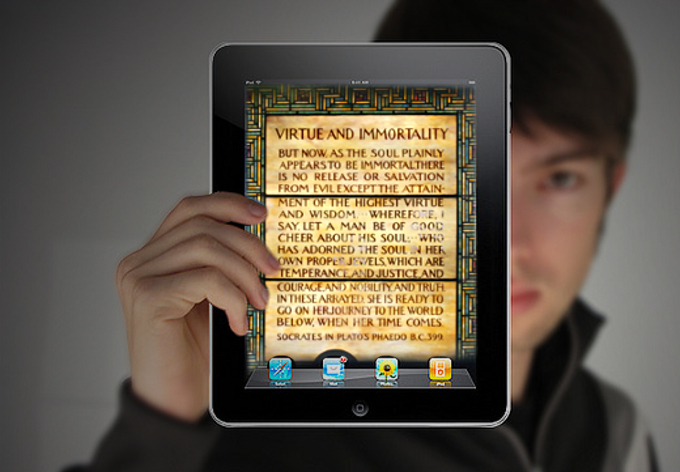 iPad, album di Rego - Virtue and immortality, album di mangpages/flickr/CreativeCommons
