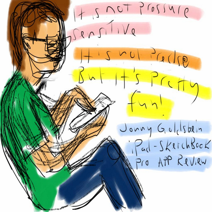 Playing with iPad, album di jonny goldstein/flickr