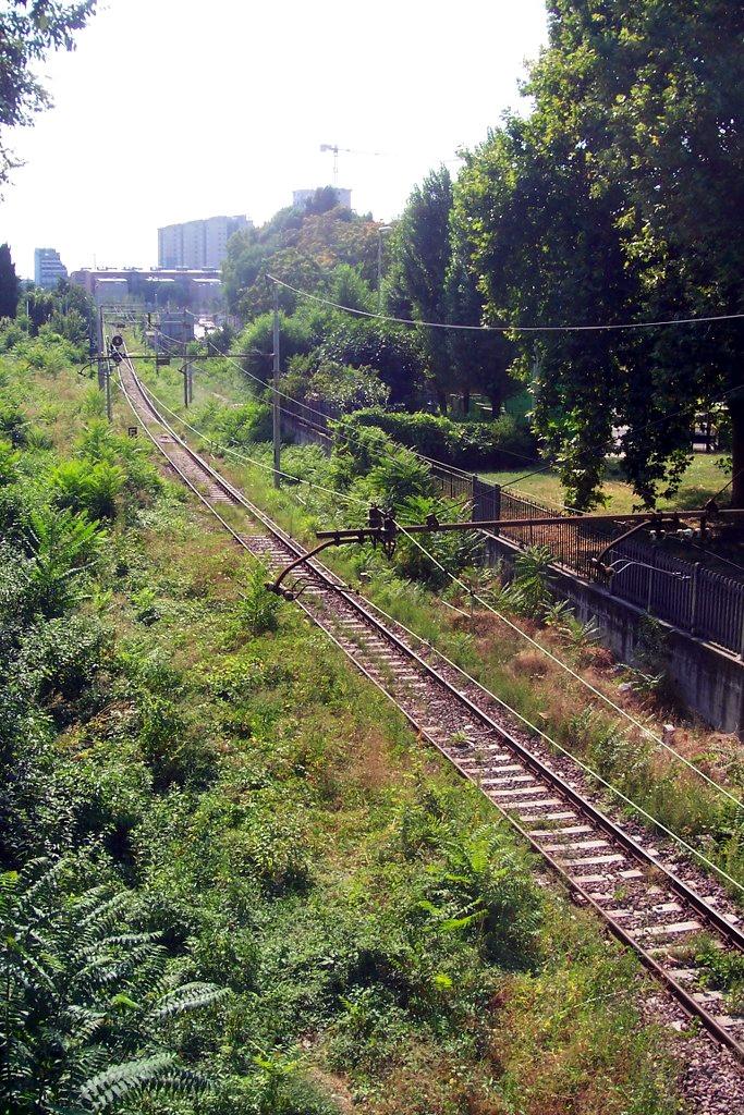 Binari della linea San Cristoforo, Porta Genova - Milano