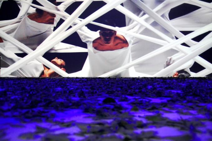 Immagini dello spettacolo: 'Sfiorerai il mio destino come una farfalla'   scritto e Diretto da Raffaele Curi. Rappresentato all'Antico Mercato del Pesce al Circo   Massimo (Roma)