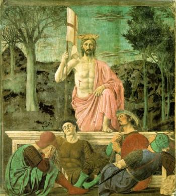 Resurrection by Piero della Francesca, album di jwyg/flickr