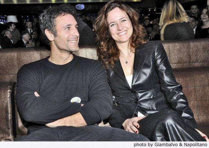 Raoul Bova con sua moglie Chiara, PRESENTAZIONE ONLUS