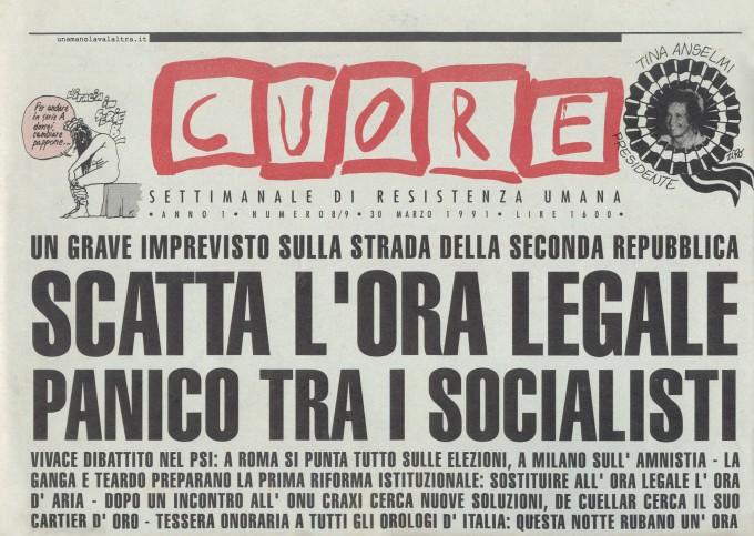 Cuore n.08/09 - 30 Marzo 1991 (http://www.unamanolavalaltra.it/home/Cuore.htm)