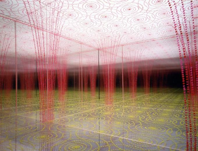 """Cattedrale Sensoriale,  1992.  Modello teorico di Architettura Percettiva per la mostra """"Citizen Office"""" al Vitra Design Museum Weil am Rhein (Germania) Collezione Galerie Italienne (Paris)"""