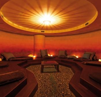 Lady Sauna relax area