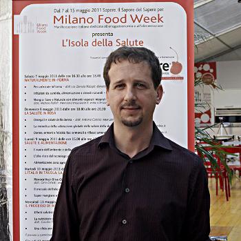 Luca Avoledo naturopata, foto di Paolo Robaudi