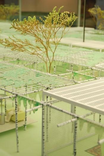 Agricoltura Residenziale,  2008.  Modello teorico di Urbanizzazione debole Coll. Daniele Macchi, Giacomo Miola, Alberto Tradati Collezione Friedman Benda (New York)