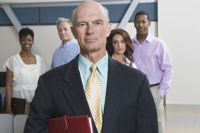 Multi Racial Group of Business People  Portrait, Image by © moodboard/Corbis