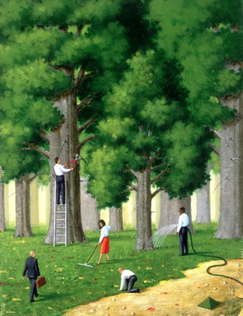 People Caring For Trees, Image by © Images.com/Corbis