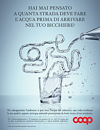 Acqua, Campagna Stampa