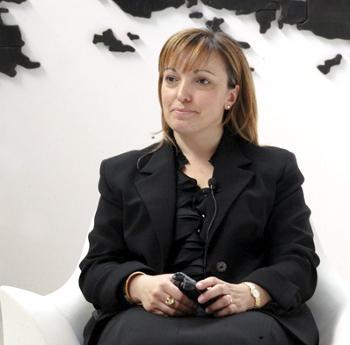 Gina Di Cecco manager, foto Paolo Robaudi