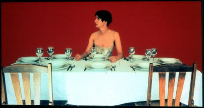Roberta Bosetti (attrice) x The secret room (at table)