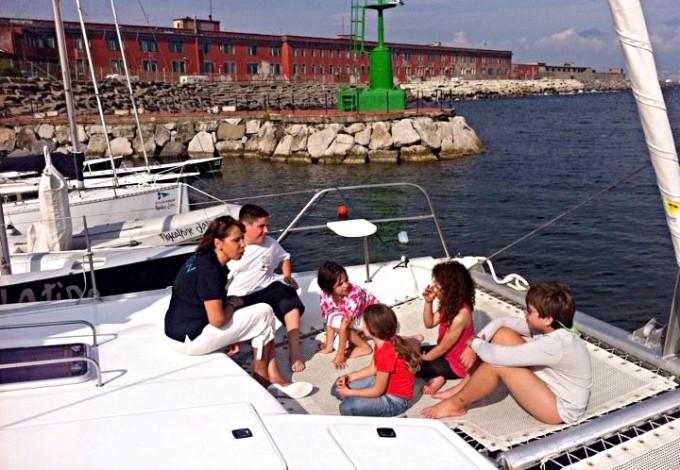 Il catamarano della salute