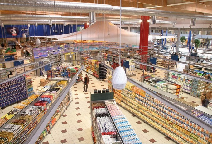 Interno Supermercato Coop