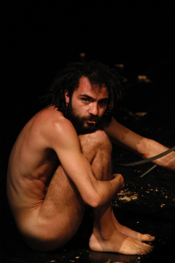 La scimia, regia E.Dante foto G.Distefano