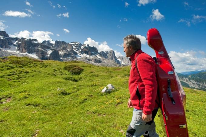 Mario Brunello trekking (foto Daniele Lira)