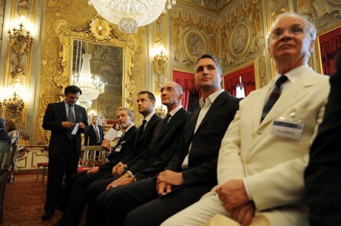 Premio Nazionale per l'Innovazione 2011. I premiati al Quirinale. Foto Claudio Vitale
