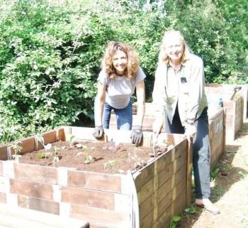 Francesca Giampieri e Elisa Resegotti, giardiniere-paesaggiste, foto di Francesca Giampieri
