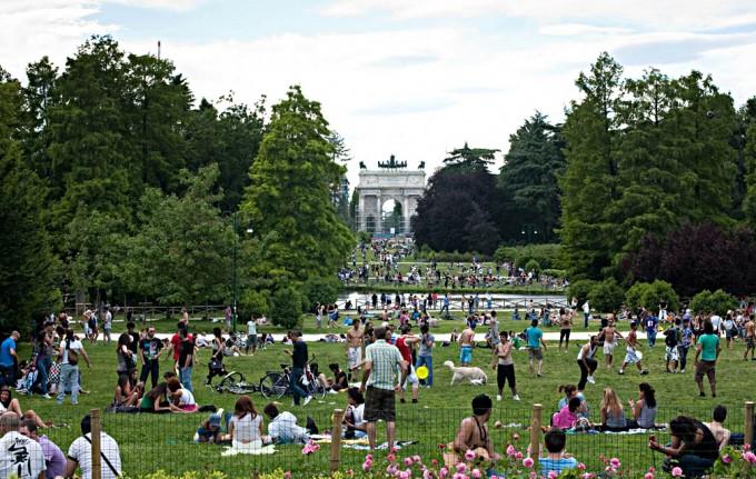 Parco Sempione, album di letizia.barbi/flickr