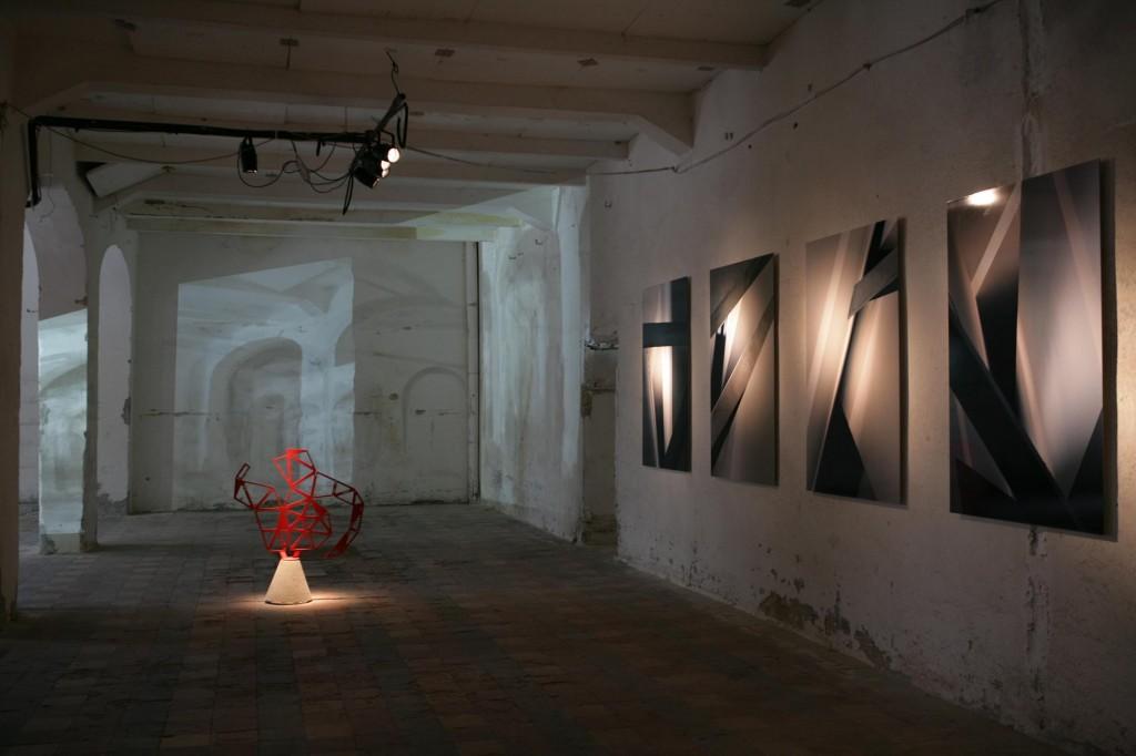 Una mostra del PAV (Progetto Arti Visive) a Time in Jazz 2008