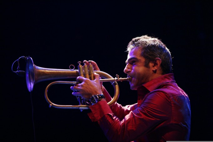 Paolo Fresu a Time in Jazz 2009. Foto Martino Luciano