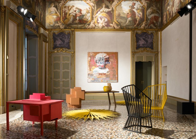 Installazione: Not for All - Palazzo Durini, credit Amendolagine Barracchia