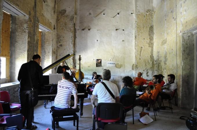 Workshop durante il festival Piazza Jazz