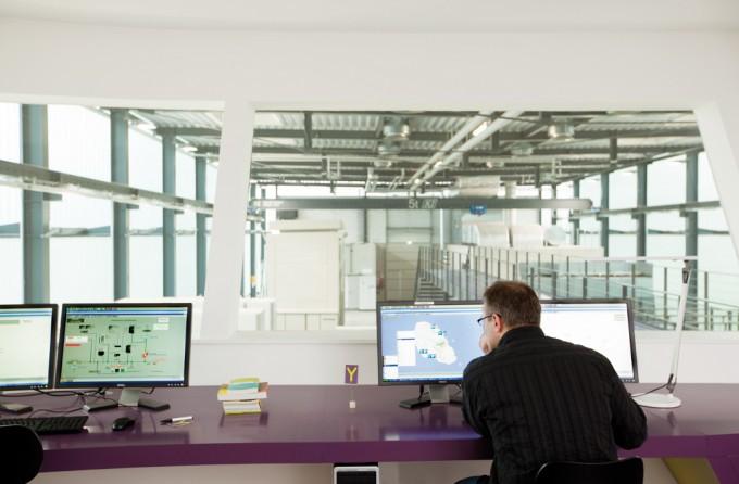 Un alimentatore simulato con le energie rinnovabili. Interior Design: Sandra Pauquet